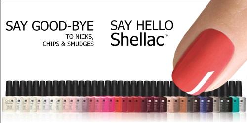 Shellac körömlakk